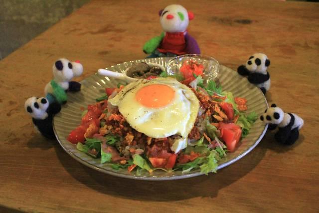 絶品♪野菜たっぷりタコライス