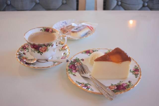ケーキセット 670円〜(税込)※ケーキにより値段は異...
