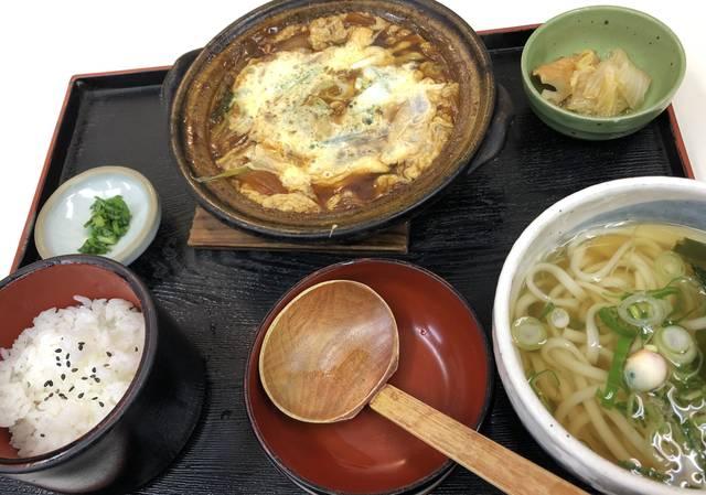 すき焼き定食 ¥950(税別)
