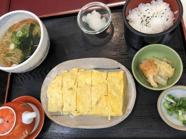 だし巻き定食 ¥800(税別)
