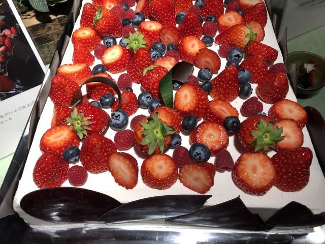 キラキララグジュアリーな苺ショートケーキ