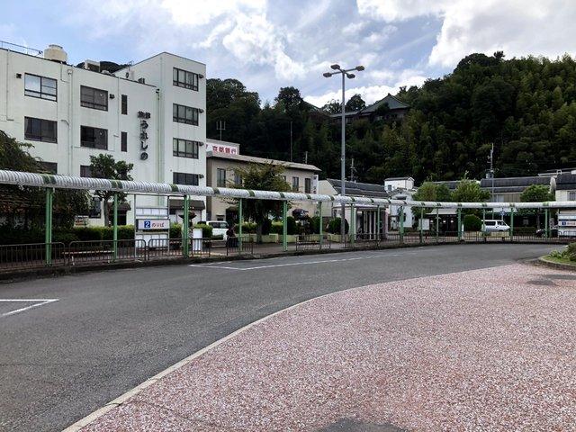 京阪石清水八幡宮駅バスロータリー