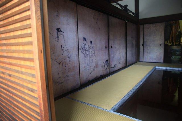雲谷等顔筆 本堂障壁画(重要文化財)