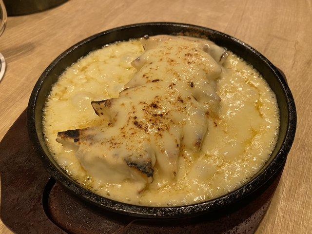 極チーズ餃子