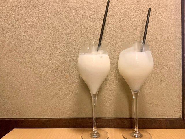 自家製米麹甘酒を使ったアレンジドリンク