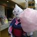 特大ふわっふわ綿菓子のお店♪ とっても大きくて可愛い♡【JEREMY & JEMIMAH 祇園店】安井金比羅宮のすぐ近く